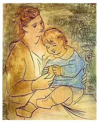 picasso-mother-and-child