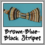 brown blue black stripes