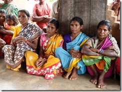 Womens SHG leaders from K marapas and nearby villages