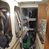 Storage Area (Forward on Starboard Side)