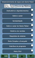 Screenshot of CURSO DE GAME MAKER COMPLETO