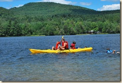 kayac ride with Diane