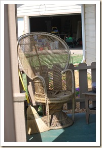 new patio chair 2