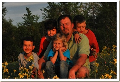 robert and kids