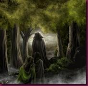 bosque peligroso