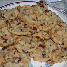 Chocolate Toffee Chip Cookies