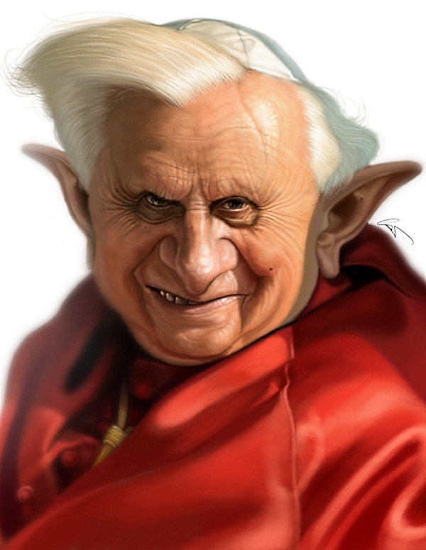 Super Realistic Celebrity Caricatures