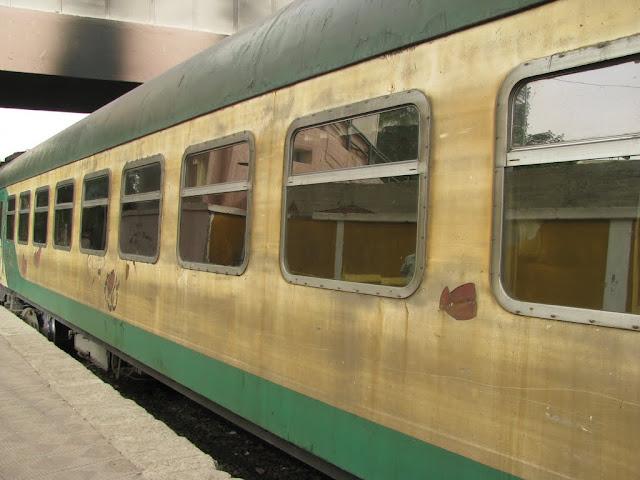 POciąg do Kairu