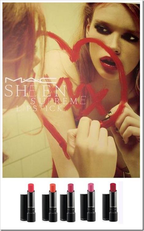 Sheen Supreme Lipsticks