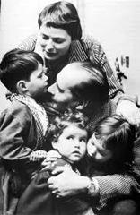 famiglia rossellini-bergman