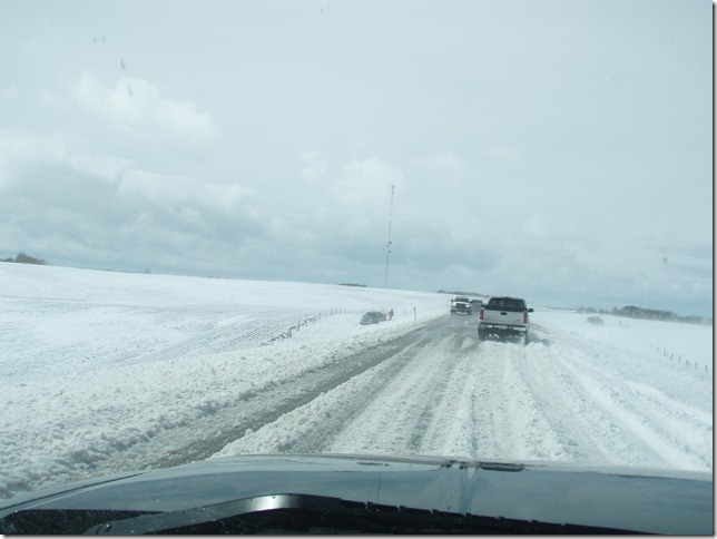 Highway 22 and the ditch parkers