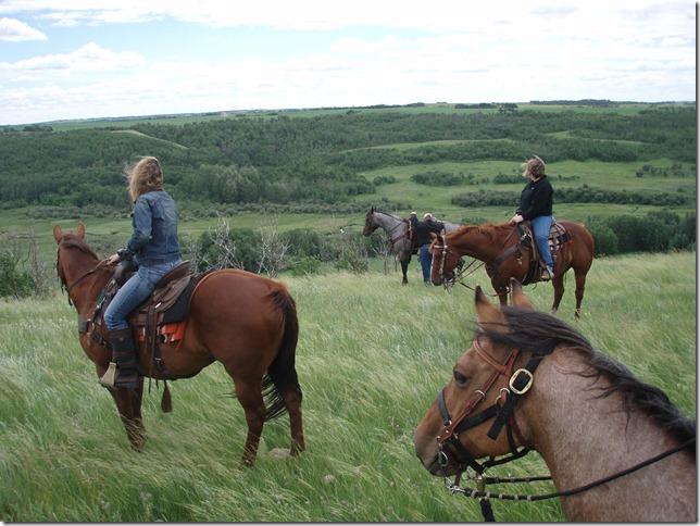 Bufflo Creek Coulee ride