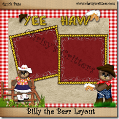 Billy the Bear Layout watermarked