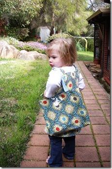 Eva and  bag