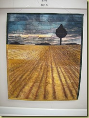 Ploughed Field - Stitch to Paint