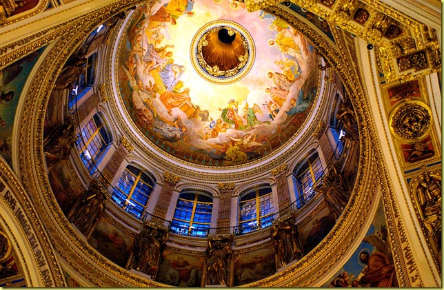 Saint-Petersburg - The Saint-Isaac Cathedral dome