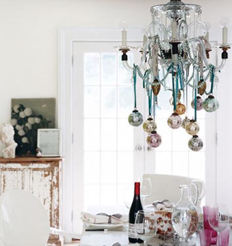 Desire to Decorate Christmas Decorating Festive Chandeliers – Martha Stewart Chandelier