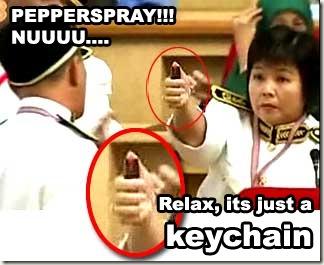 spray or keychain