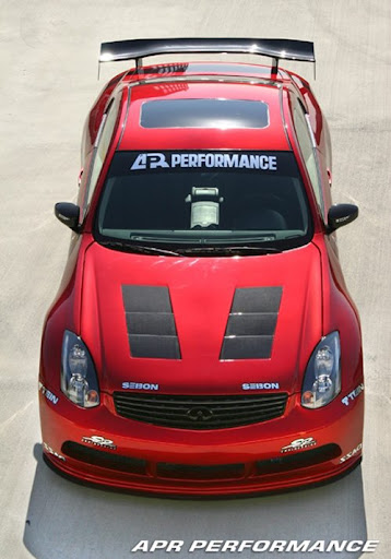 Aerodynamic tuning by APR Performance