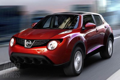 The 1st images of Nissan JUKE
