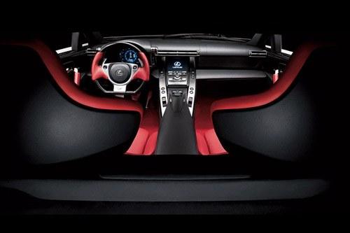 Interior Lexus LFA