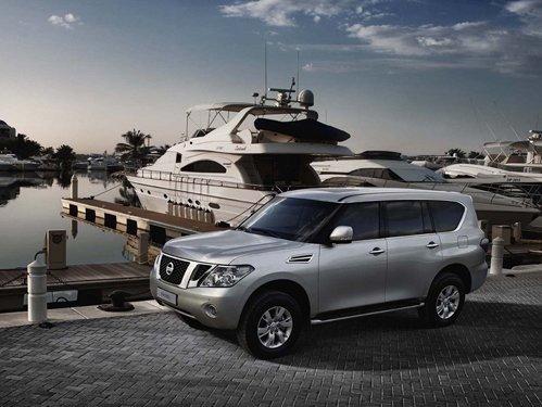 More luxury Nissan Patrol