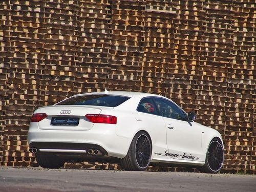 New Audi A5 Black Edition. Audi A5 Senner Black and White