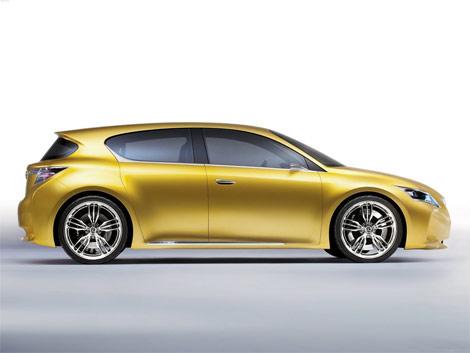 Lexus has declassified a compact hatchback LF-Ch