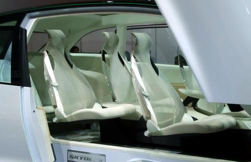 Interior Honda Skydeck