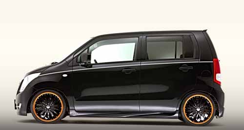 Tuning studio DAMD has finished a minicar Suzuki WagonR