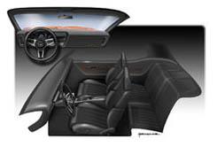 Interior Pontiac GTO