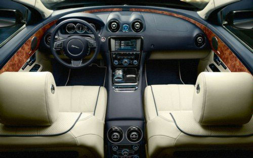Interior Jaguar XJL
