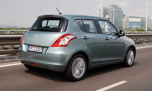 The 1st photos of updated Suzuki Swift