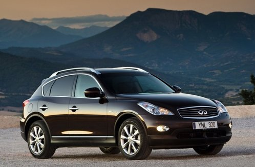 Infiniti updates crossovers FX and EX