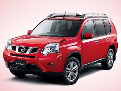 Nissan showed updated X-Trail