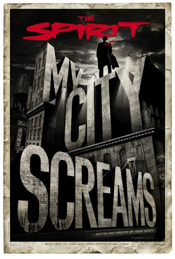 My City Screams Teaser Poster
