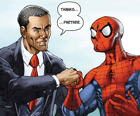 Web head meets Head of State