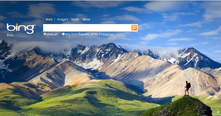 microsoft bing new search engine