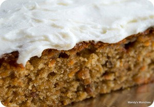 Carrot Cake with buttercream