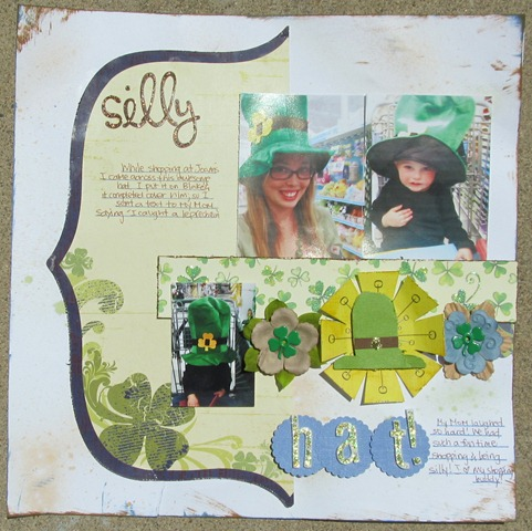 Family 2011- St Patrick Hat