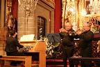 Dúo de trompetas y órgano