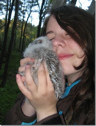 Fluffy kattugleunge 019