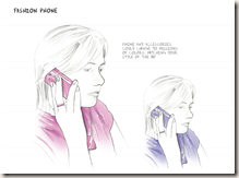 Philips E-Skin Fashion Phone