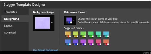 Choose a colour theme