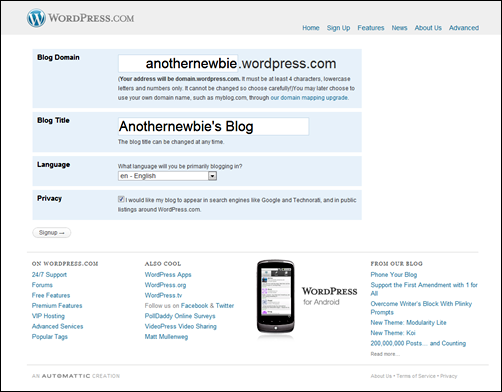 and I have a wordpress blog[4]