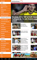 Screenshot of ForzaRoma.info