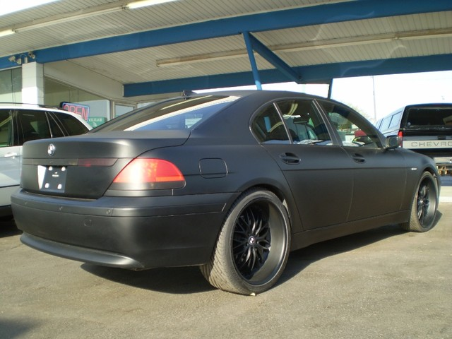 I M Interested In Matte Blacking Out My 04 745li