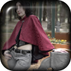 Burgundy Mini Cloak