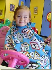 August 2010 - Camryn's first haircut (3)