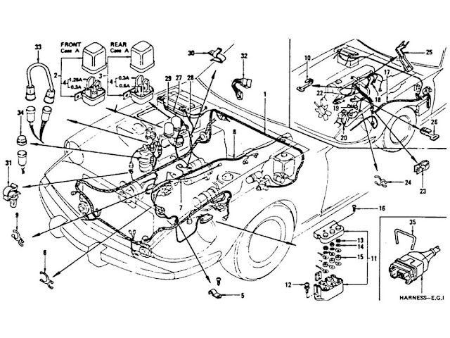 1977 datsun 280z wiring harness diagram  1977  free engine